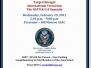 Counterterrorism Presentation & Dinner