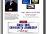 Community Leadership Award 2010